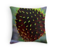 Punk Rock Prickly Pear Throw Pillow