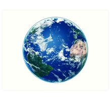 Earth - The Blue Planet Art Print