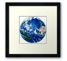 Earth - The Blue Planet Framed Print