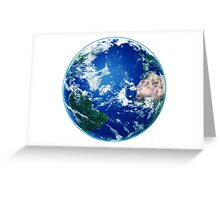 Earth - The Blue Planet Greeting Card