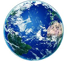 Earth - The Blue Planet Photographic Print