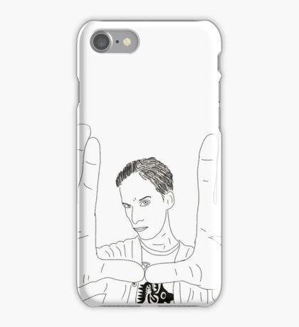 The awesome: Abed Nadir iPhone Case/Skin