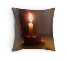 the last of the night lights Throw Pillow
