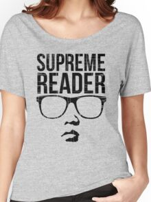 Supreme Reader Women's Relaxed Fit T-Shirt