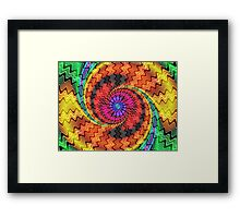 The Point of it All Framed Print