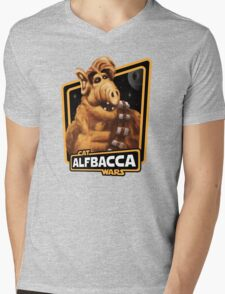 Alfbacca: Cat Wars Mens V-Neck T-Shirt