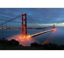 Golden Gate Bridgr Photographic Print