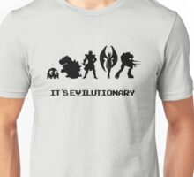It's Evilutionary (with text) Unisex T-Shirt