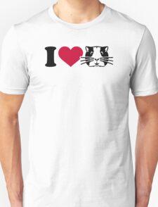 I love Hamster Guinea pig T-Shirt