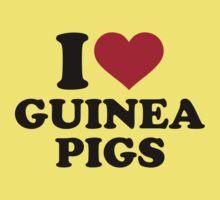 I love Guinea pigs Kids Clothes