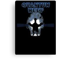 Quantum Meep Canvas Print