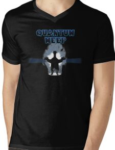 Quantum Meep Mens V-Neck T-Shirt