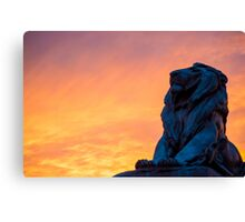 Capital Lion Canvas Print