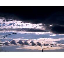 Urban Sky Photographic Print