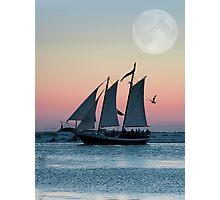 Lunar Call Photographic Print