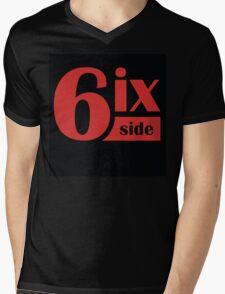 6ix Side Mens V-Neck T-Shirt