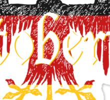 Oktoberfest Established 1810 Sticker