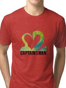 Hook and Swan Tri-blend T-Shirt