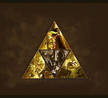 The Legend of Zelda, triforce by endgameendeavor
