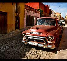 San Miguel de Allende by Janet Wolbarst