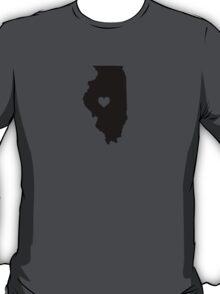 Illinois <3 T-Shirt