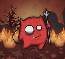 Cute Little Red Devil by TICS