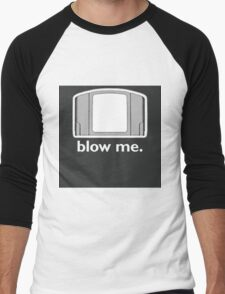 Blow Me - cartridge, funny.  Men's Baseball ¾ T-Shirt