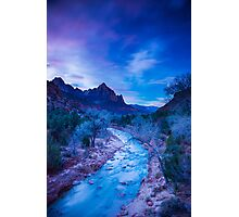 The Watchmen's Dawn – Zion National Park, Utah Photographic Print