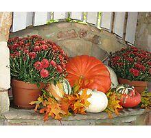 ~Autumn Design~ Photographic Print
