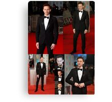 BAFTA 2015-TOM HIDDLESTON: POSTER, PHONE CASES, AND TABLET CASES Canvas Print