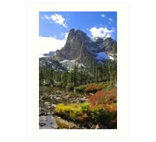 Rocky Mountains CO Art Print