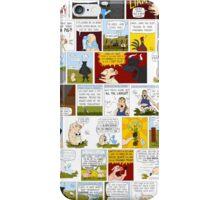 My Best Friend's A Ghost-Duck Comic Strip Collage iPhone Case/Skin