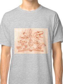 Jurassic Park - The Novel Classic T-Shirt