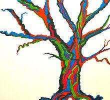 Dream Tree by ErikaGlassArt