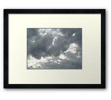 Cloudscape Framed Print