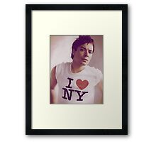 Jimmy Fallon Framed Print