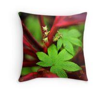 Wild Flora Throw Pillow