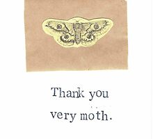 Thank You Very Moth by bluespecsstudio