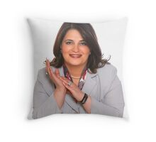 Labour Candidate Throw Pillow