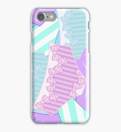 Pastel Panty Attack! iPhone Case/Skin