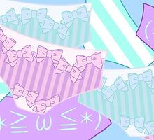 Pastel Panty Attack! by AlicenUnderwear