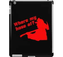 Where my hose at! Funny Geek Nerd iPad Case/Skin
