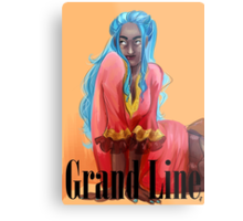 Grand Line Collection: Nefertari Vivi Metal Print