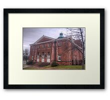 Connecticut Valley Hospital Building Framed Print