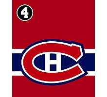 Montreal Canadiens - 2014-15 Jersey - red Photographic Print