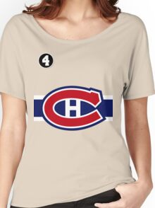 Montreal Canadiens - 2014-15 Jersey - red Women's Relaxed Fit T-Shirt