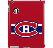 Montreal Canadiens - 2014-15 Jersey - red iPad Case/Skin