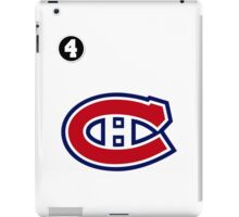 Montreal Canadiens - 2014-15 Jersey - white iPad Case/Skin