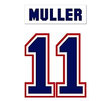 Kirk Muller #11 - white jersey Photographic Print