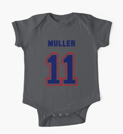 Kirk Muller #11 - white jersey One Piece - Short Sleeve